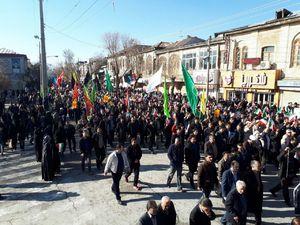 عکس/ قیام مردم کرمانشاه علیه فتنهگران