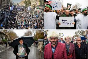 خروش انقلابی ملت ایران علیه آشوبگران/ 13 دی، 9 دی دیگری که اغتشاشگران را به زبالهدان تاریخ انداخت +عکس