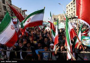 عکس/ راهپیمایی عظیم شکوه وحدت در اهواز