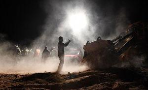 اجسادی در گور دستهجمعی داعش در رقه