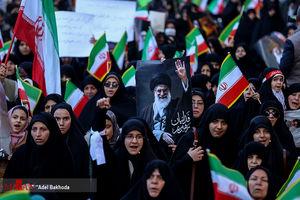راهپیمایی مردم در محکومیت اغتشاشات اخیر