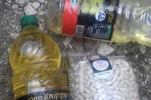 عکس/ سیر شدن تروریستها با خوراک اسرائیلی