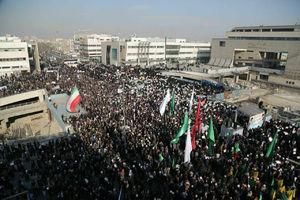 تظاهرات مردم مشهد در محکومیت آشوبگران