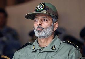 تقدیر فرمانده ارتش از مردم، ناجا و بسیج در خاموش کردن فتنه اخیر