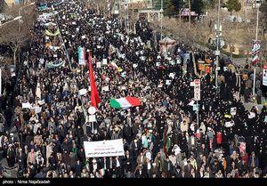 عکس/ قیام مردم مشهد علیه فتنهگران