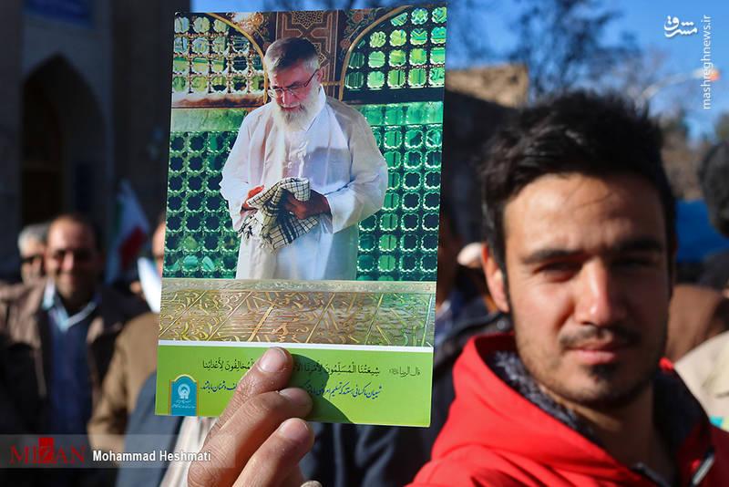 راهپیمایی مردم سبزوار علیه آشوب گران