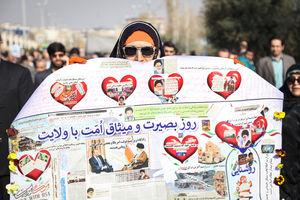 راهپیمایی مردم تهران علیه آشوب گران