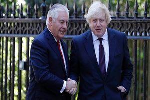 گفتگوی وزرای خارجه انگلیس و آمریکا درباره ایران