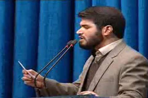 فیلم/ شعر خوانی مطیعی در نمازجمعه تهران