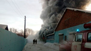 عکس/ 10کشته در آتش سوزی کارگاه کفش