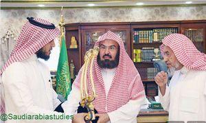 عکس/ رونمایی از میکروفن تمام طلای مسجدالحرام!