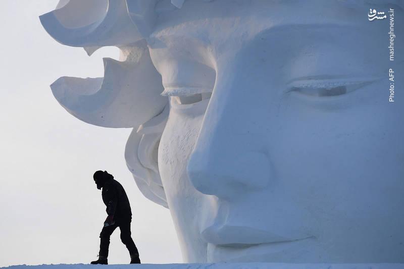 نمایشگاه مجسمههای برفی در هاربین چین
