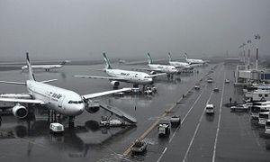 نقص فنی در زمان فرود هواپیما در فرودگاه مهرآباد