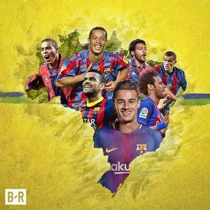 عکس/ کوتینیو چندمین برزیلی سرشناس تاریخ بارسلوناست؟