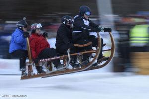 تصاویر دیدنی از مسابقه سورتمهسواری در آلمان