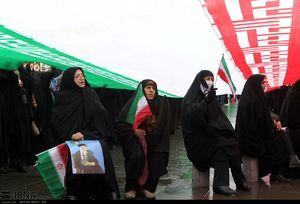عکس/ راهپیمایی اعلام برائت از فتنه گران در رشت