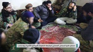 عکس/ بُهتِ تروریستها از پیشروی ارتش سوریه