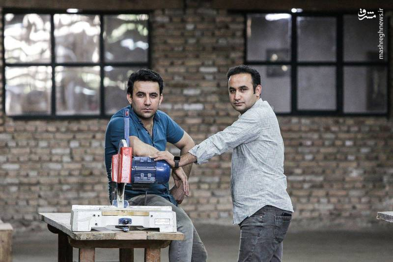 «سایه بان» برادران محمودی برای تلویزیون +عکس