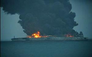 فیلم/ پیدا شدن اولین جسد نفتکش ایران