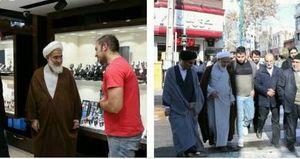 عکس/وقتی امام جمعه مردمی باشد