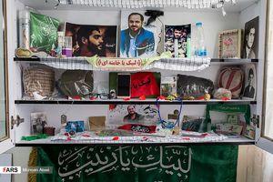 عکس/ دیدار حجتالاسلام قندهاری با خانواده شهید صفری