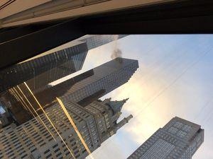 فیلم/ اولین تصاویر از آتش سوزی در «برج ترامپ»