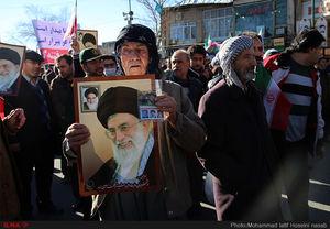 خروش مردم کردستان علیه فتنه گران