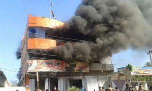 حمله مزدوران بارزانی به شهر شیعهنشین طوزخورماتو +عکس