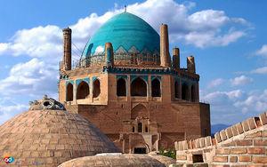 عکس/ بلندترین گنبد آجری جهان در زنجان