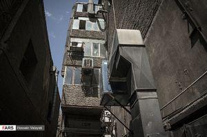 عکس/ ناامنترین محلههای تهران هنگام زلزله