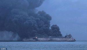 واکنش کاربران فضای مجازی نسبت به حریق نفتکش ایرانی