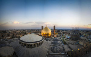 تصویری زیبا از حرم امامین عسکریین(ع)