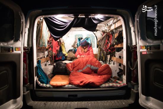«خانهبهدوش»های عصر دیجیتال؛ نسل جدید بیخانمانها از کانادا ظهور میکنند +عکس و فیلم