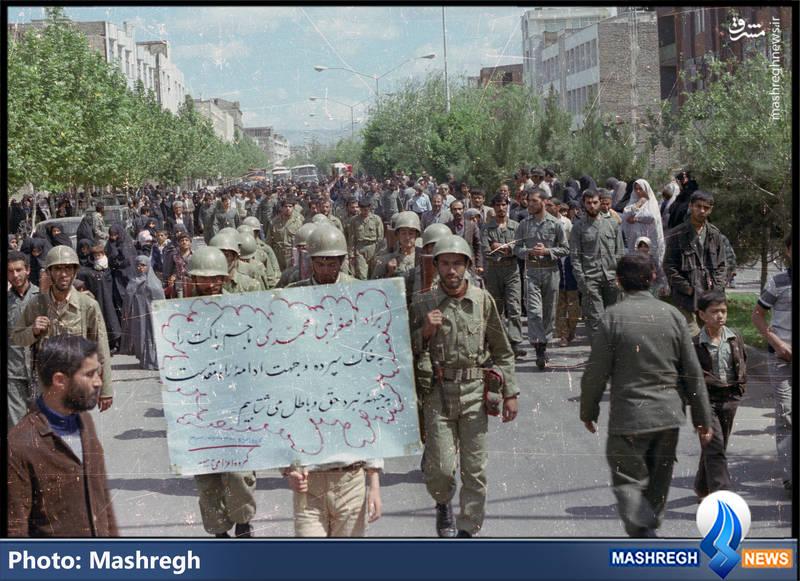 تشییع پیکر شهید «اصغر نبیمحمدی» در «قزوین»