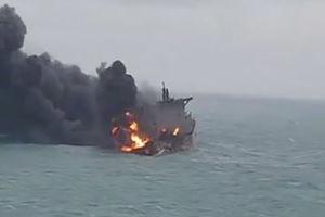 فیلم/ آخرین تصاویر از نفتکش ایرانی در چین