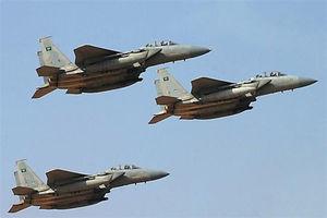 جنگنده سعودی ها