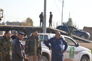 عکس/ نیروهای عراقی در جستجوی تهماندههای داعش
