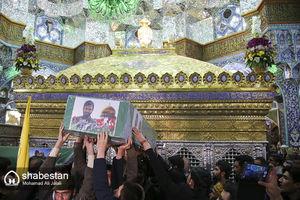 عکس/ تشییع هفت شهید مدافع حرم در قم