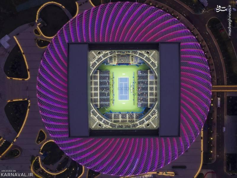 مرکز بین المللی تنیس شهر ووهان / چین