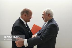 دیدار وزیر امور خارجه ایران و فرانسه