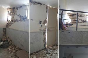 خسارت زلزله به دانشگاه گیلان غرب