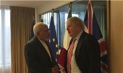 وزیر خارجه انگلیس: مساله افراد دوتابعیتی را در دیدار با ظریف مطرح کردم