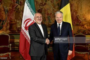 وزرای امور خارجه ایران و بلژیک