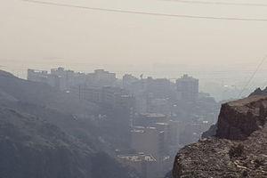 وضع آلودگی هوای تهران