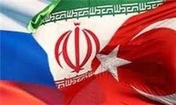 روسیه ترکیه ایران