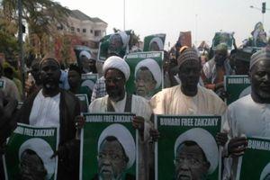 عکس/ تظاهرات حمایت از شیخ زکزاکی در نیجریه