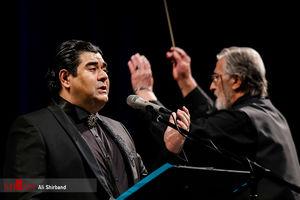 عکس/ اجرای ارکستر ملی در دومین شب جشنواره موسیقی فجر