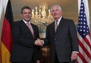 وزرای خارجه آمریکا و آلمان