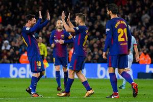 بارسلونا 5 - سلتاویگو 0