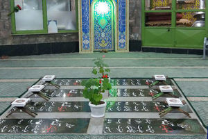 عکس/ مزار شهدای گمنام در گاوازنگ زنجان